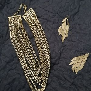 Golden touch Jewelry Set